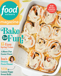 Food Network Magazine, April 2021
