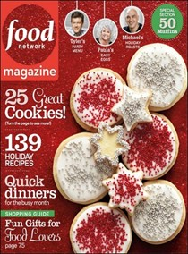 Food Network Magazine, December 2012