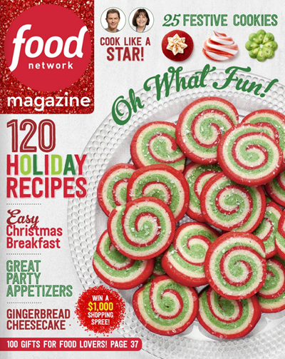 Food network magazine december 2016 eat your books food network magazine december 2016 forumfinder Image collections