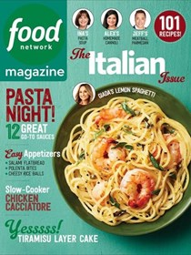 Food Network Magazine, March 2017: The Italian Issue