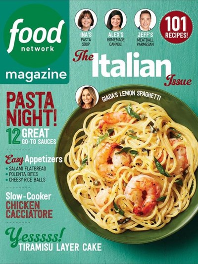 Food Network Magazine March 2017 The Italian Issue Eat Your Books