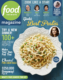 Food Network Magazine, March 2018: The International Issue