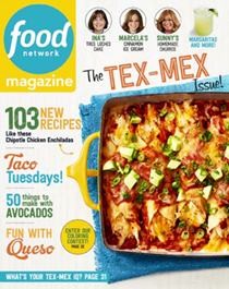 Food Network Magazine, May 2017: The Tex-Mex Issue!
