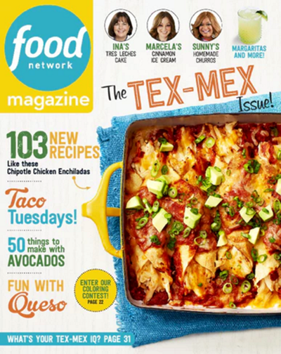 Food Network Magazine May 2017 The Tex Mex Issue Eat Your Books