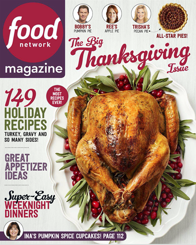 Food network magazine november 2017 the big thanksgiving issue food network magazine november 2017 the big thanksgiving issue forumfinder Gallery
