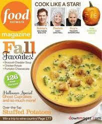 Food Network Magazine, October 2011