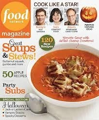 Food Network Magazine, October 2012