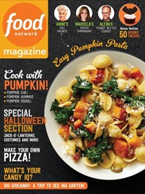 Food Network Magazine, October 2016
