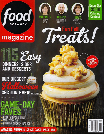 Food Network Magazine October 2017 Eat Your Books