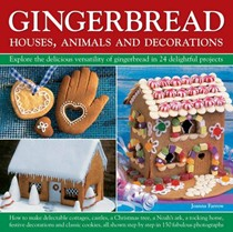 Gingerbread Houses, Animals and Decorations
