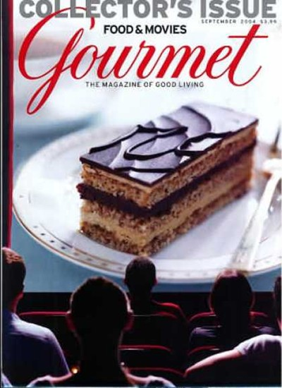 Gourmet Magazine, September 2004: The Movie Issue