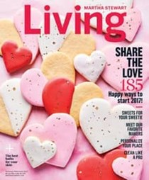Martha Stewart Living Magazine, Jan/Feb 2017