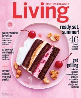 Martha Stewart Living Magazine, June 2015: The Food Issue