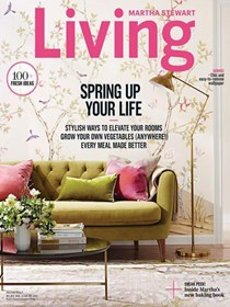 Martha Stewart Living Magazine, March 2017