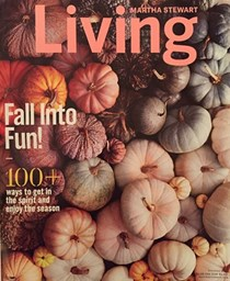 Martha Stewart Living Magazine, October 2016