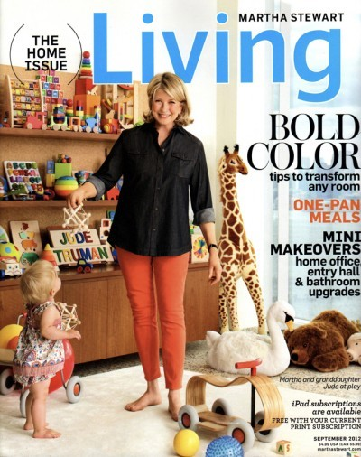 Charmant Martha Stewart Living Magazine, September 2012: The Home Issue