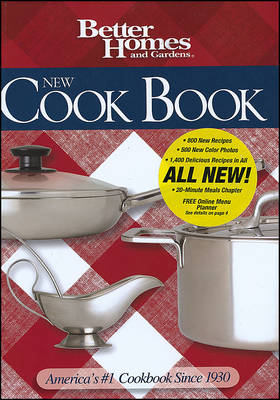 New Cook Book, 14th Edition: Better Homes & Gardens