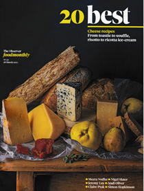 Observer Food Monthly Magazine, March 28, 2021: Special Edition: 20 Best Cheese Recipes