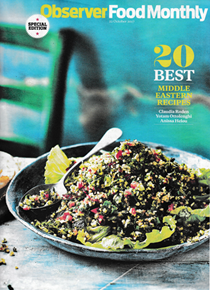 Observer Food Monthly Magazine, October 22, 2017: Special Edition: 20 Best Middle Eastern Recipes