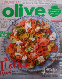Olive Magazine, August 2017: The Italian Issue