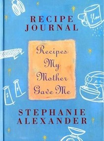 Recipes My Mother Gave Me: Recipe Journal