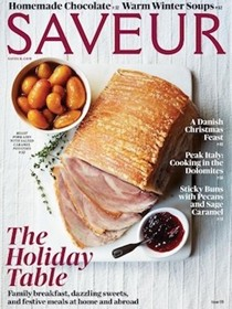 Saveur Magazine, December 2015 (#179)
