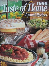 Taste of Home Annual Recipes 1996