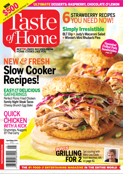 Taste of Home Magazine, Apr/May 2016