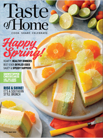 Taste of Home Magazine, Apr/May 2021
