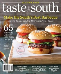 Taste of the South Magazine, May/Jun 2018