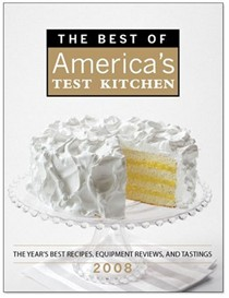 The Best of America's Test Kitchen 2008: The Year's Best Recipes From Americas Most Trusted Test Kitchen