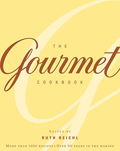 The Gourmet Cookbook: More Than 1000 Recipes