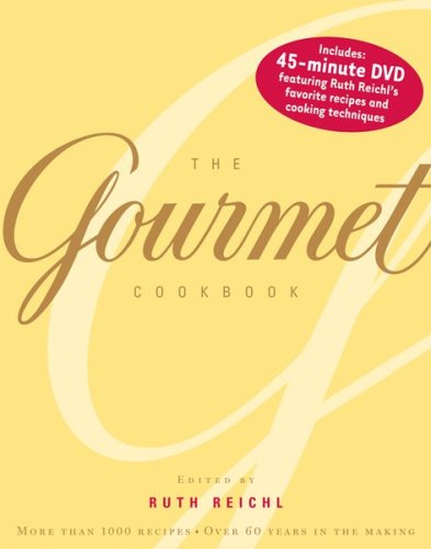 The Gourmet Cookbook With DVD: More Than 1000 Recipes
