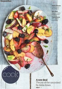 The Guardian Cook supplement, August 6, 2016