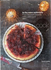 The Guardian Cook supplement, December 17, 2016
