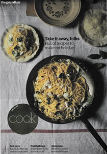 The Guardian Cook supplement, July 29, 2017