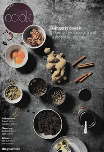 The Guardian Cook supplement, October 28, 2017