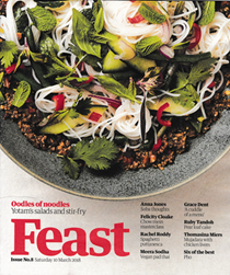The Guardian Feast supplement, March 10, 2018