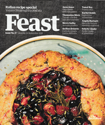 The Guardian Feast Supplement, September 29, 2018: Italian Recipe Special