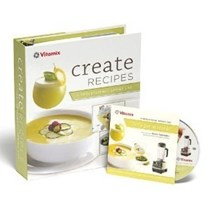 "Vita-Mix ""Create"" Recipe Book with Chef Steve Schimoler Instructional DVD"