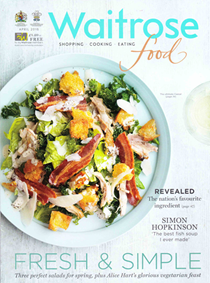 Waitrose Food Magazine, April 2016