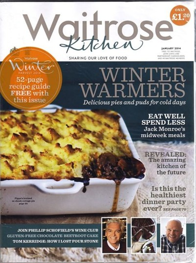 Waitrose Kitchen Magazine, January 2014