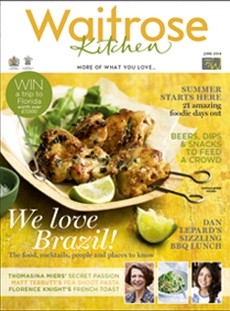 Waitrose Kitchen Magazine, June 2014