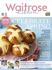 Waitrose Kitchen Magazine, March 2015: Easter Special