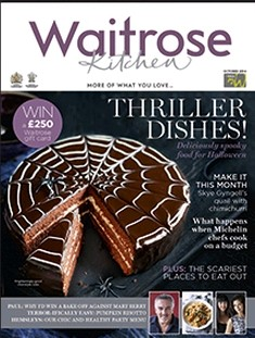 Waitrose Kitchen Magazine, October 2014