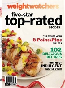 Weight Watchers Five-star Top-rated Recipes Summer